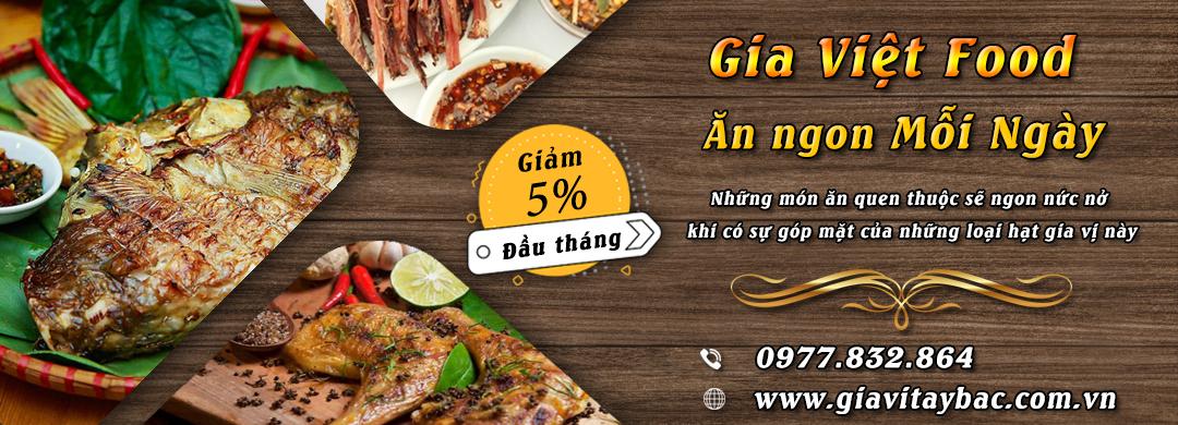banner website gia việt food 2